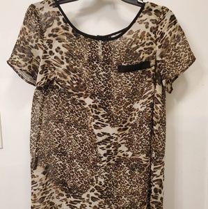 Cheetah Top-Size Medium